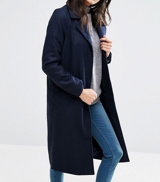 ASOS Brave Soul Long Coat