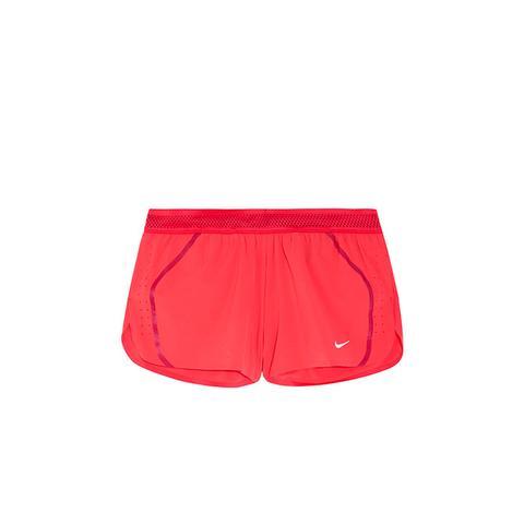 Aeroswift Mesh-Tripped Dri-Fit Stretch-Shell Shorts