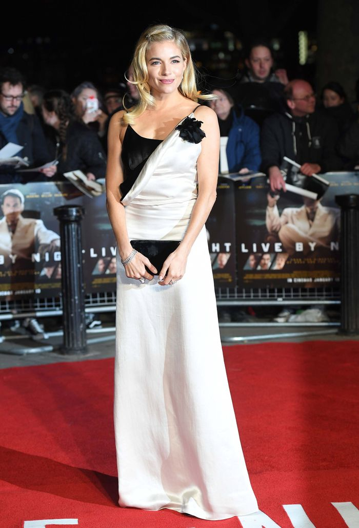 Sienna Miller at Live By Night Premiere