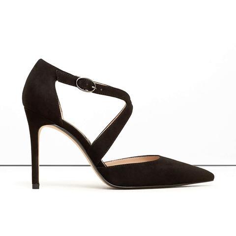 Lace-Up Stiletto Shoes