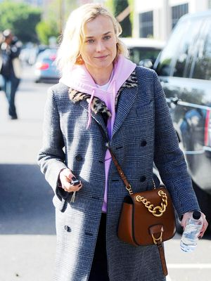 Diane Kruger Just Wore the Perfect Weekend Coffee-Run Ensemble