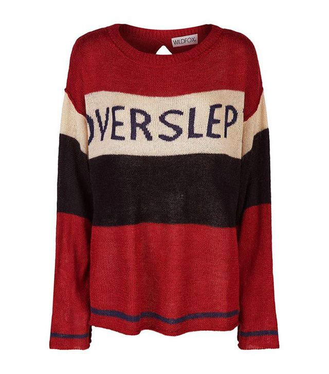 Wildfox Couture Overslept Sweater