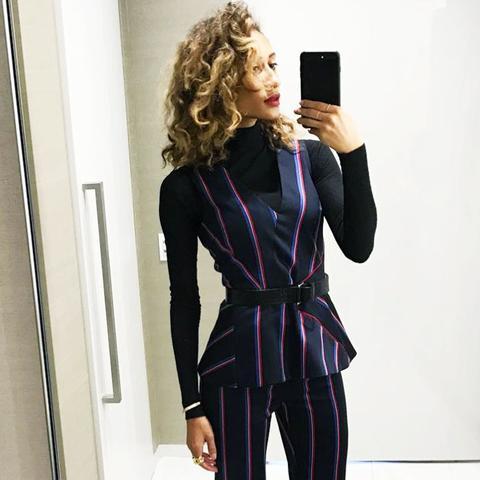 most stylish vogue editors: Elaine Welteroth