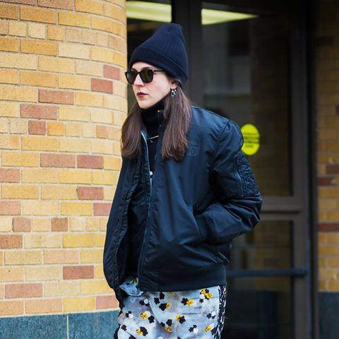 most stylish vogue editors: Kirby Marzec