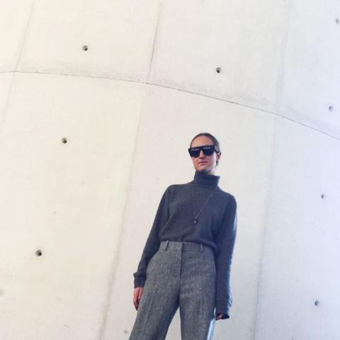 most stylish vogue editors: Valentina Collado