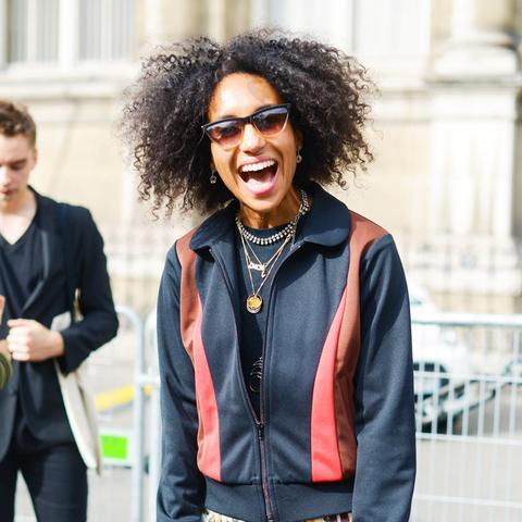 most stylish vogue editors: Chioma Nnadi