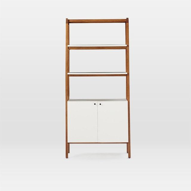 West Elm Modern Cabinet Bookcase