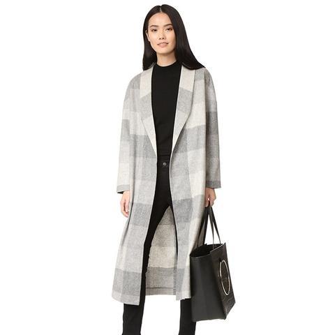 The Robe Wool Long Coat