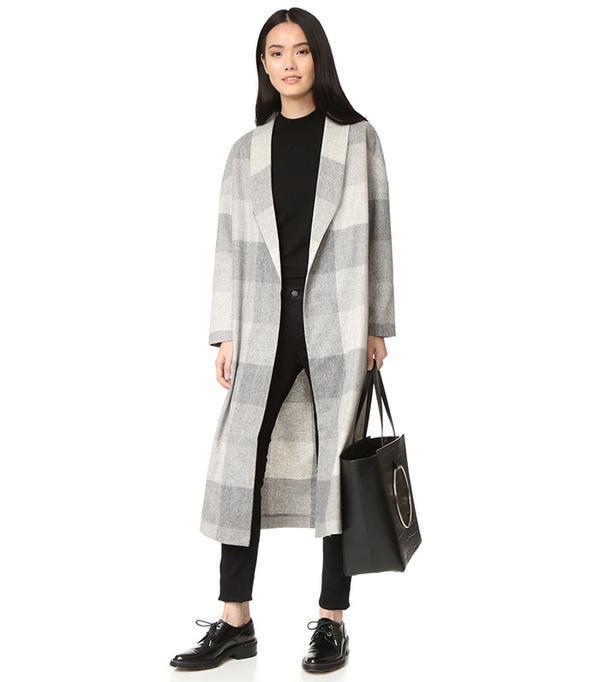 AYR The Robe Wool Long Coat