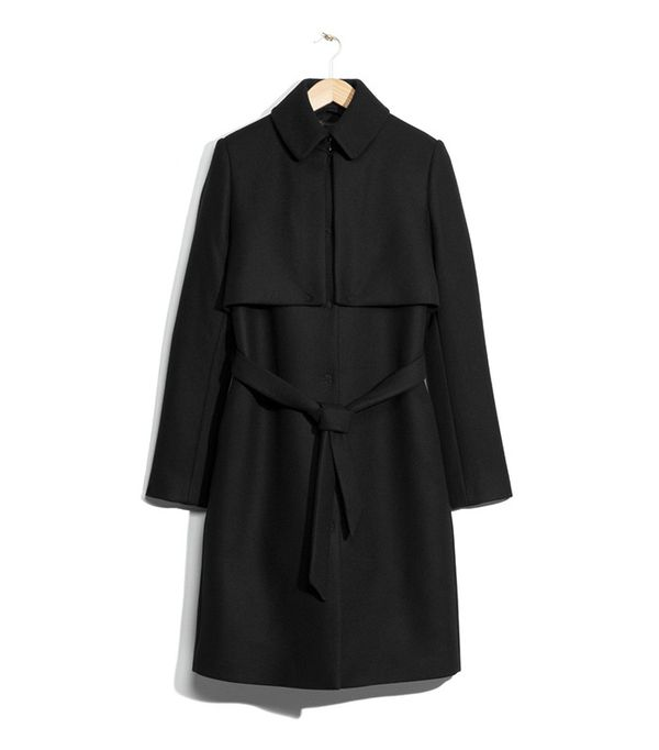 & Other Stories Wool Trenchcoat