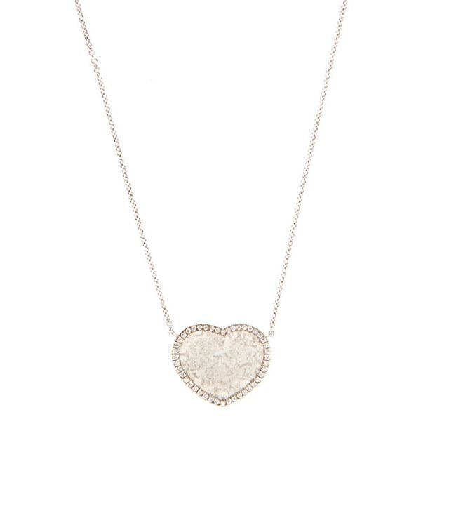 Susan Foster Diamond Slice and White-Gold Necklace