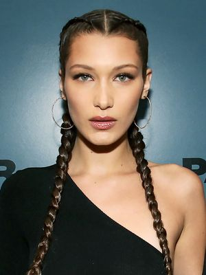 Bella Hadid Just Filmed the Prettiest Spring Makeup Tutorial