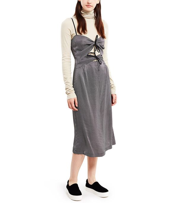 Rachel Comey Tie-Front Midi Dress
