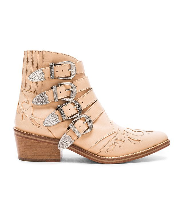 Toga Pulla Leather Booties