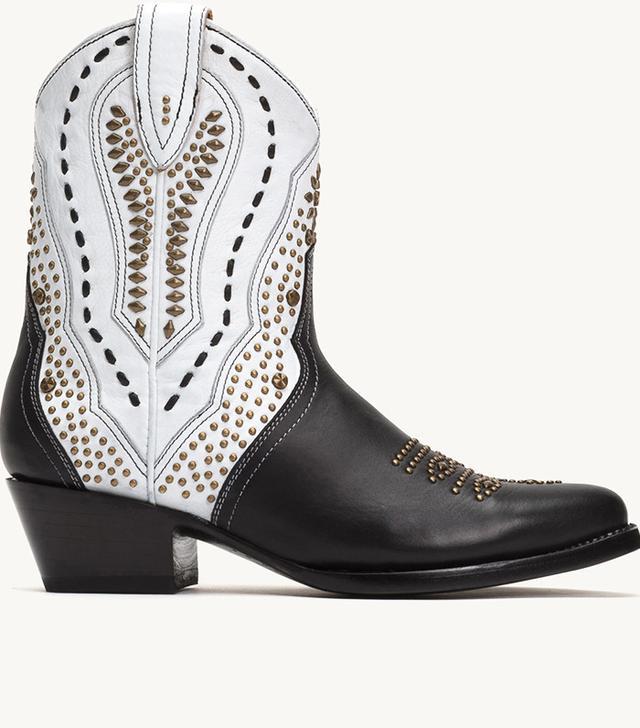 Frye Tulsa Stud Short Boots