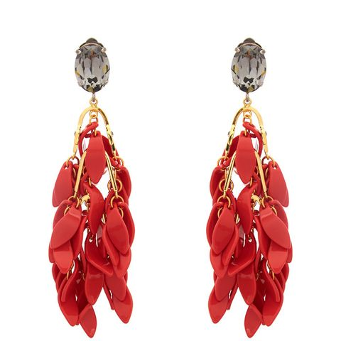 Multi Petal Drop Earrings