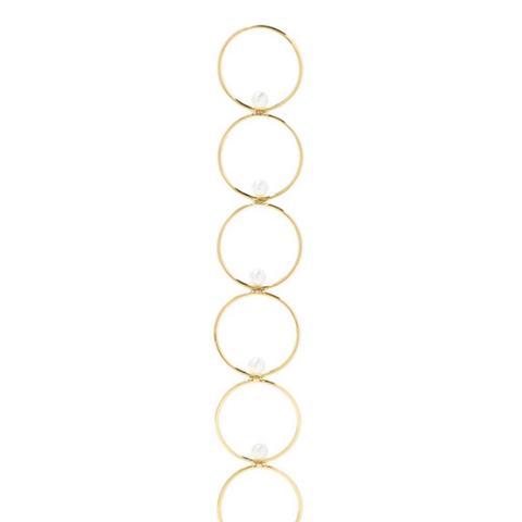 14-Karat Gold Pearl Earring