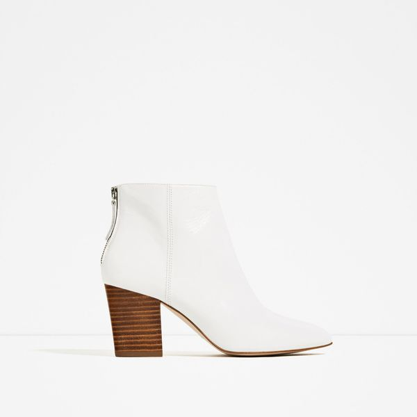 Zara High-Heel Ankle Boots