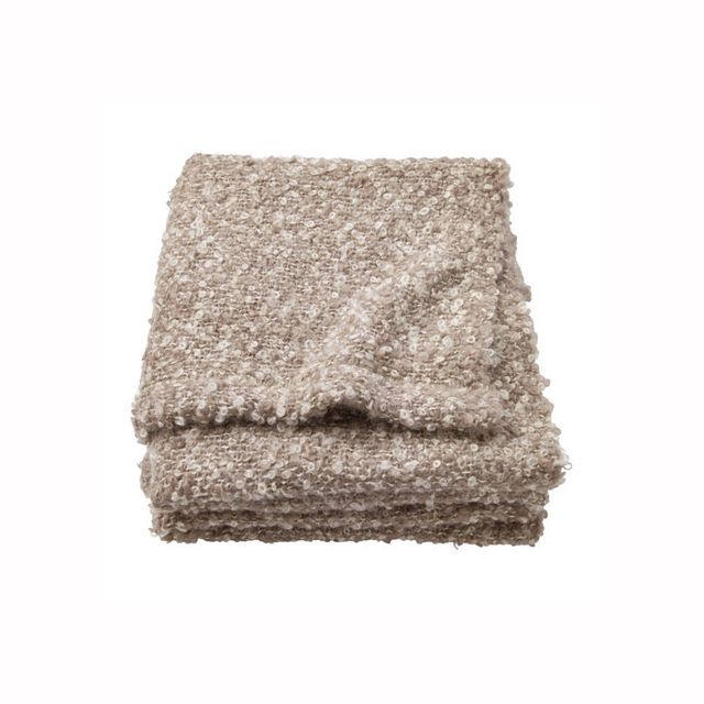 IKEA STOCKHOLM Beige Throw