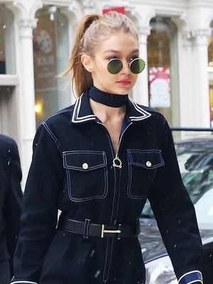 This Is How Gigi Hadid Styles a Jumpsuit for a Snow Day