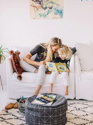 We're Low-Key Obsessed With How This Aussie Model Decorates a Family Home