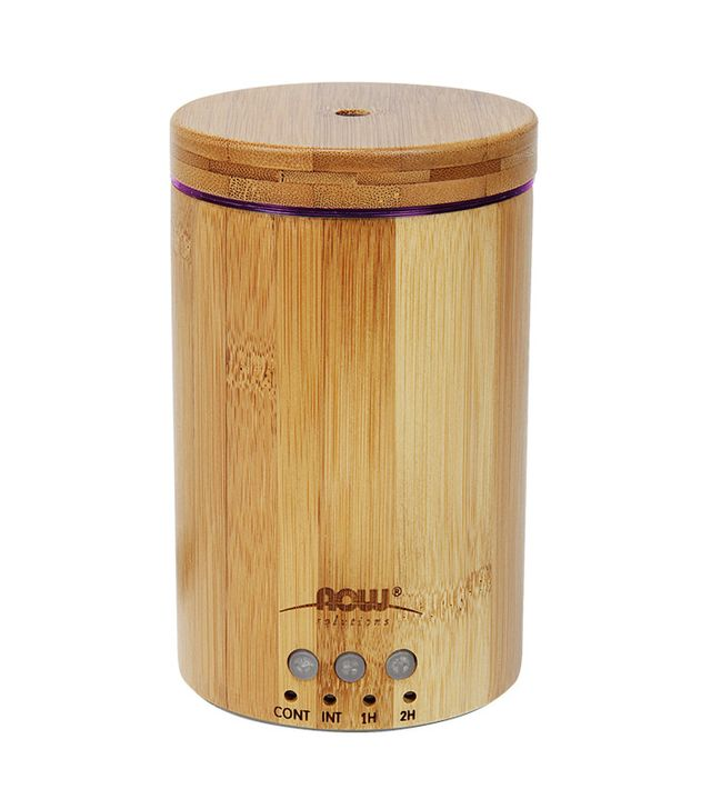 Now Essential Oils Ultrasonic Real Bomboo Essential Oil Diffuser