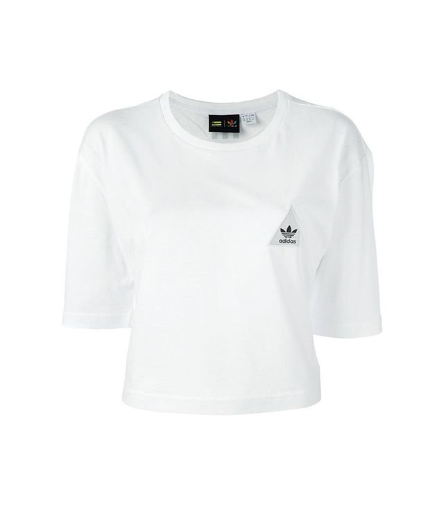 Adidas Hu Race Cropped T-Shirt