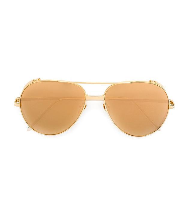 Linda Farrow 426 Aviator Sunglasses