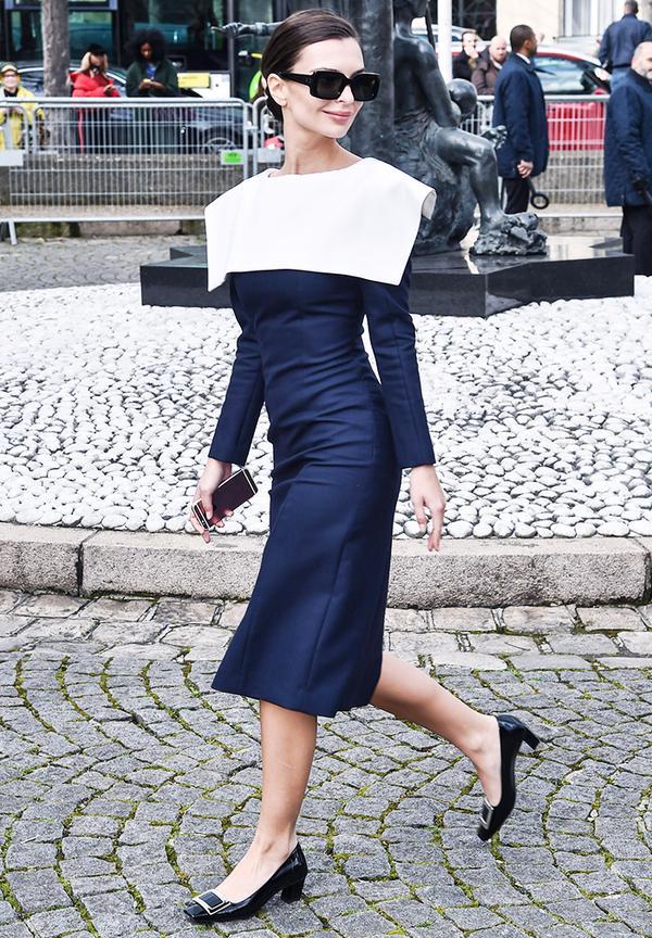 Emily Ratajkowski style: Ladylike outfits