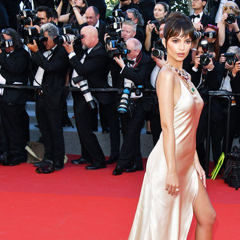 Emily Ratajkowski style: the Naked Dress