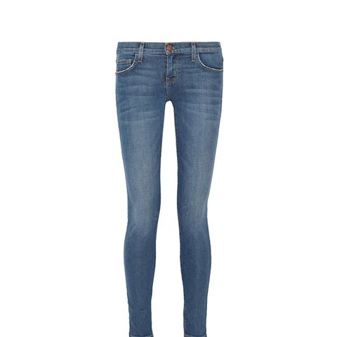 The Ankle Mid-Rise Skinny Jeans