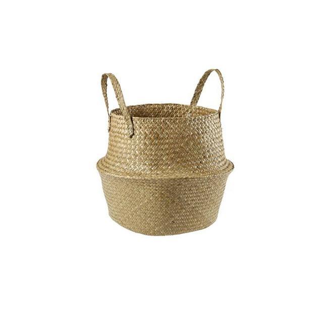 Kmart Foldable Seagrass Basket