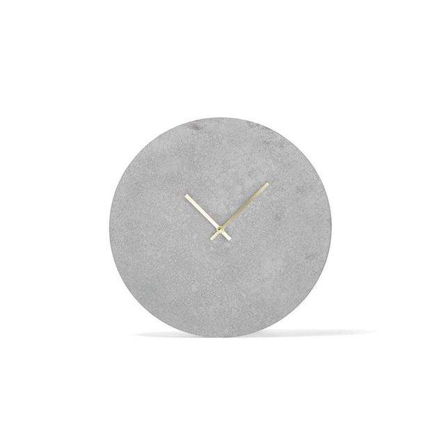 Kmart Concrete Look Clock