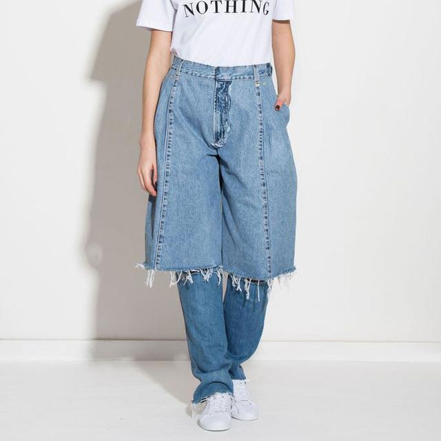 Ksenia Schnaider Demi Denims Jeans