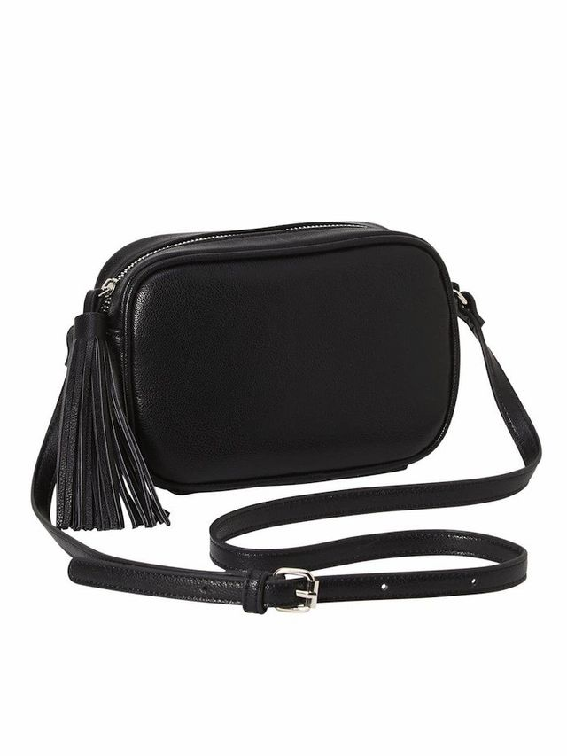Old Navy Tassel Mini Crossbody Bag