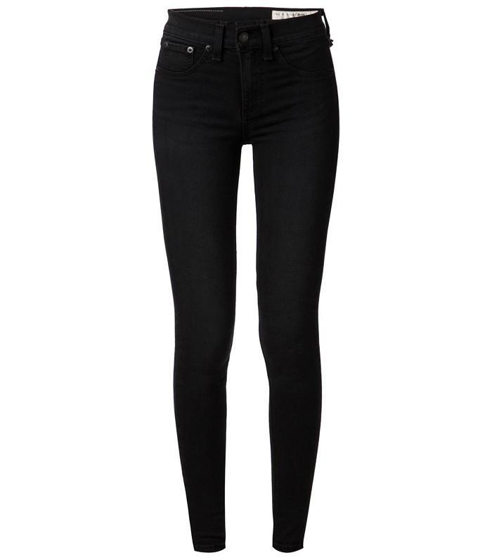 Best black high-waisted jeans: Rag & Bone Highrise Legging Jeans