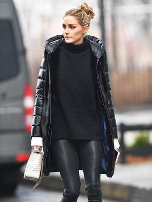 Simple Abbey Crouch Dons Fantastic Red Leather Pants | Leather Fetish Lady Abbey Crouch | Pinterest ...