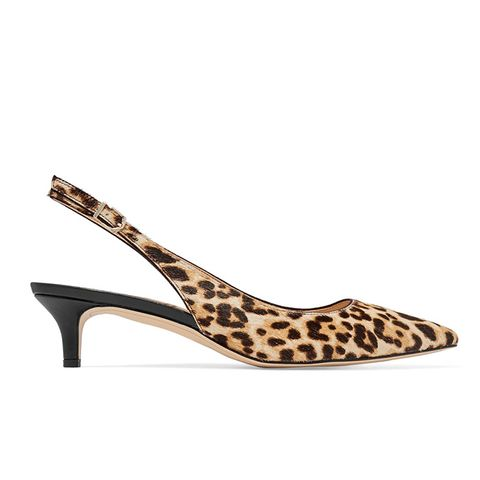 Ludlow Leopard-Print Calf-Hair Pumps