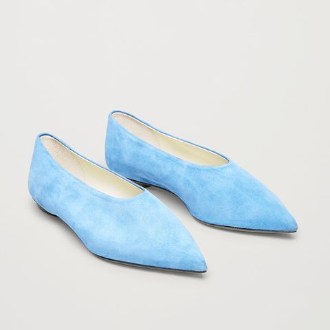 Pointed Slip-On Shoes
