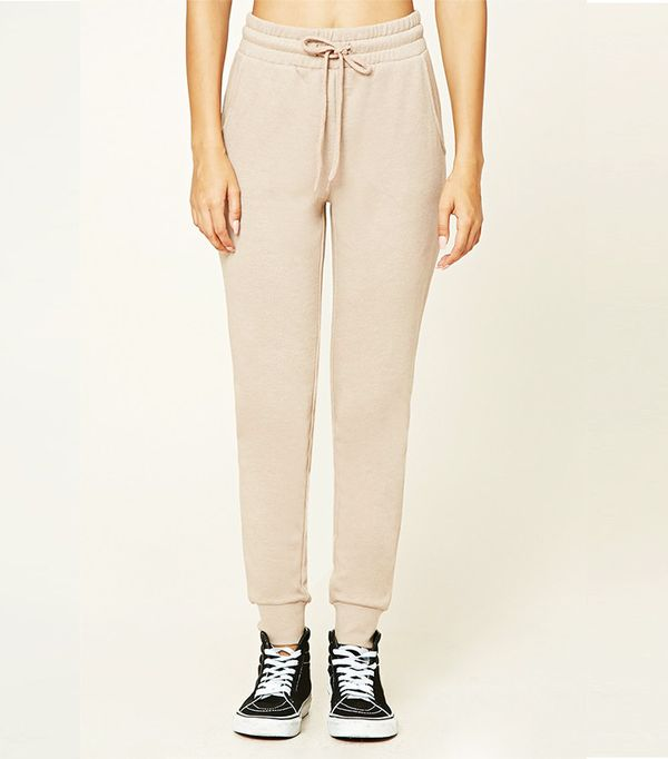 Forever 21 French Terry-Knit Sweatpants