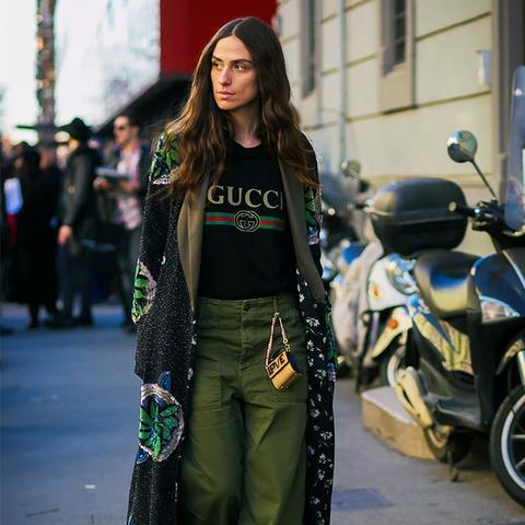 street style trends 2017: Cargo Pants