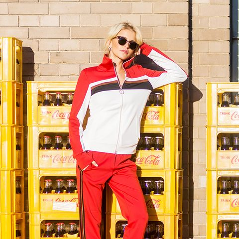street style trends 2017:  Retro Tracksuits Are King