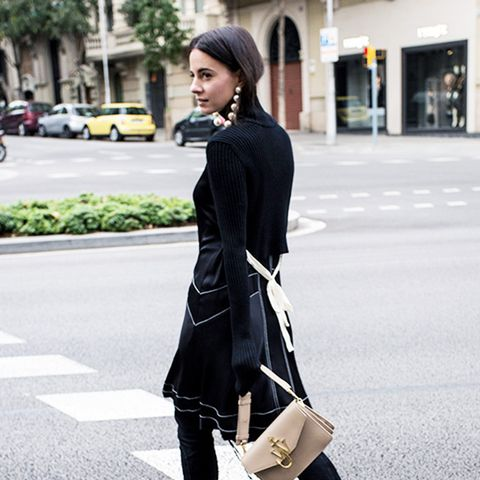 street style trends 2017: Contrast Stitching