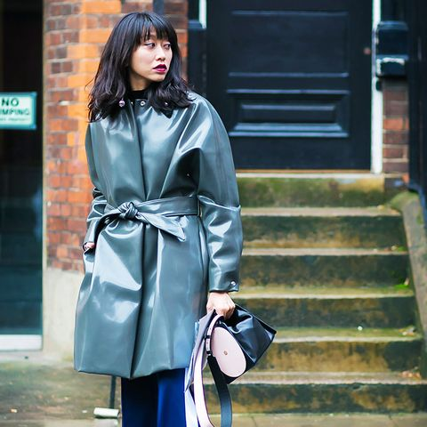 street style trends 2017: Everything is Better in Vinyl