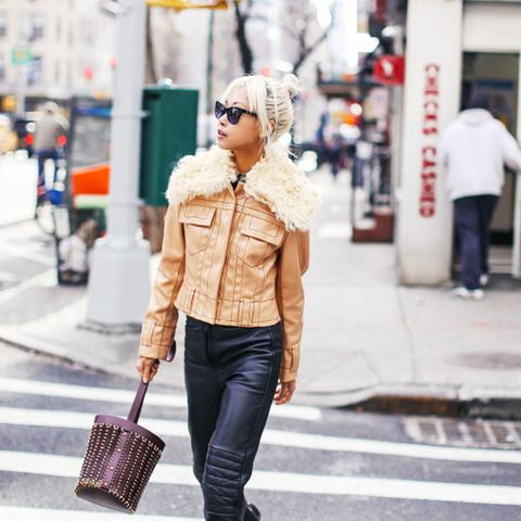 street style trends 2017: Moto Leathers