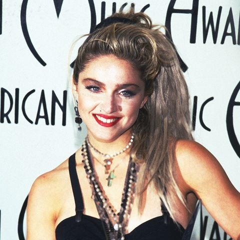 eighties fashion: Madonna in the bodysuit was the pinnacle of eighties fashion