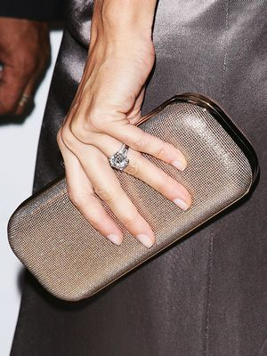 Celebrities in the Longest Relationships Wear This One Engagement Ring Shape