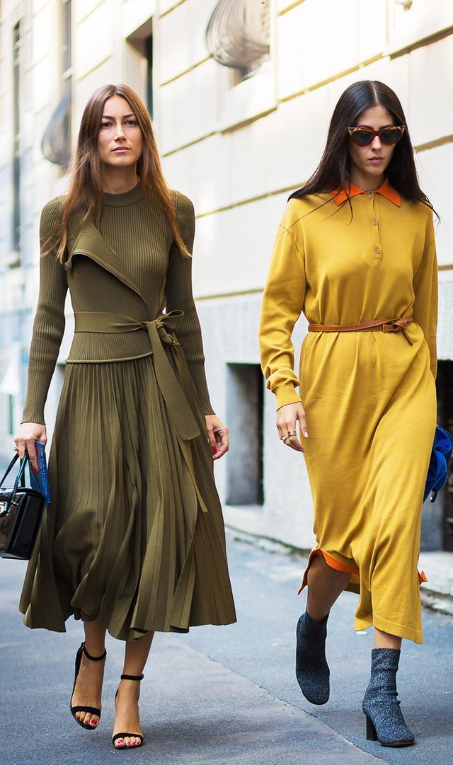 street-style-longsleeve-dress