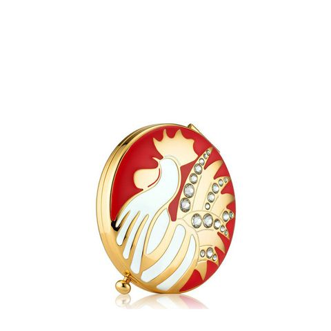Year Of The Rooster Powder Compact