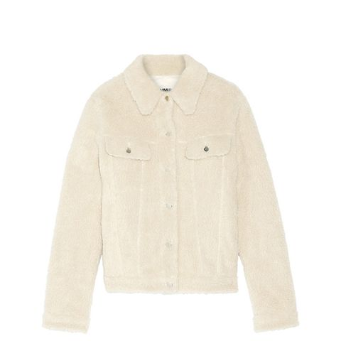 Teddy Faux Shearling Jacket